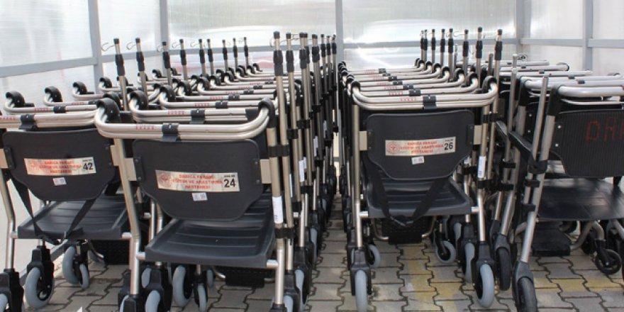 Darıca Farabi'ye 50 tekerlekli sandalye