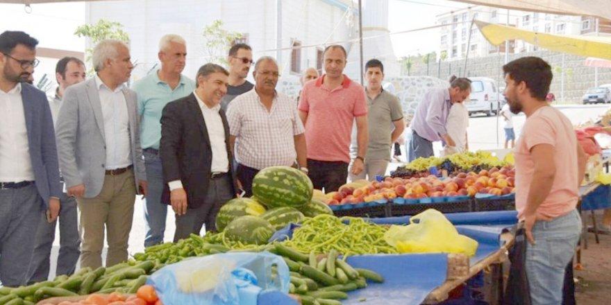 DİLOVASI: Şayir Pazar ziyareti yaptı