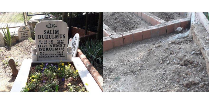 Salim Durulmuş'un mezarı tahrip edildi