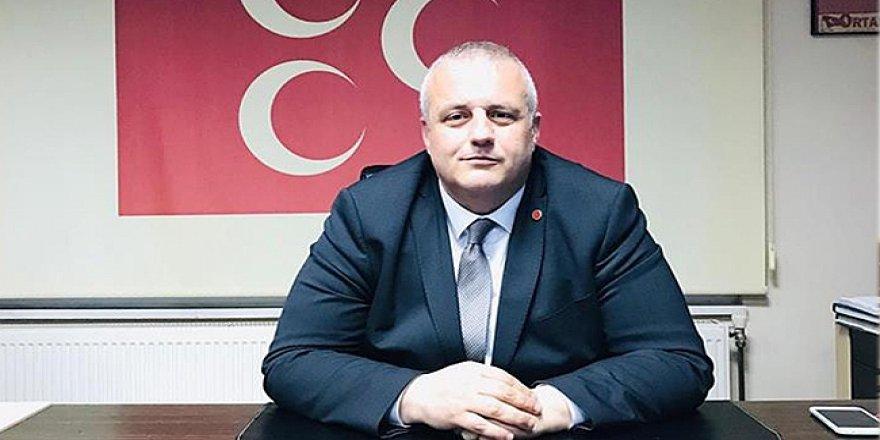 """MHP İLÇE BAŞKANI SERKAN KURAL:  """"İYİ Partiden MHP'ye geçişler olacaktır"""""""