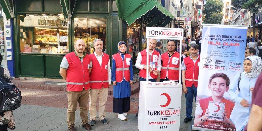Kocaeli Kızılay, kurban kampanyasının tanıtımın yaptı