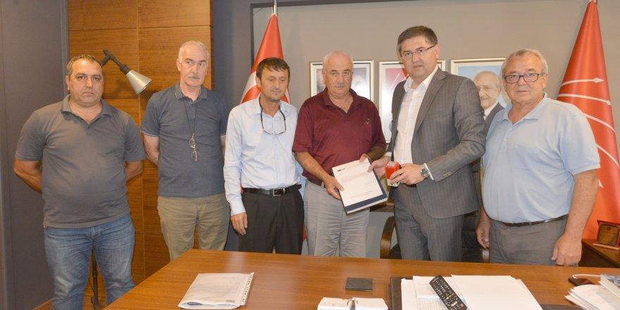 CHP KARTEPE'DE: Yeni yönetim göreve başladı