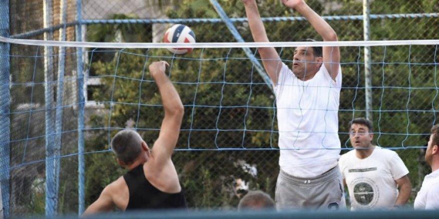 Sporcu başkan!..