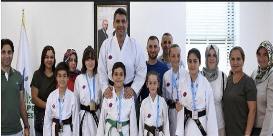 Karateciler Çanakkale'de esti