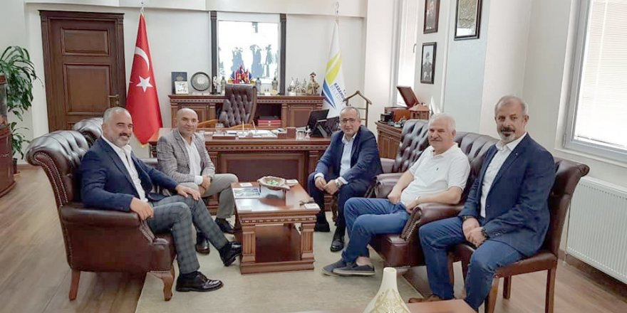 Akar Ve Tarhan'dan Başkanlara Ziyaret