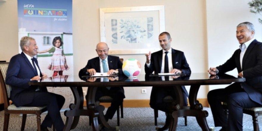 TFF ile UEFA Çocuk Vakfı, iş birliği protokolü imzaladı