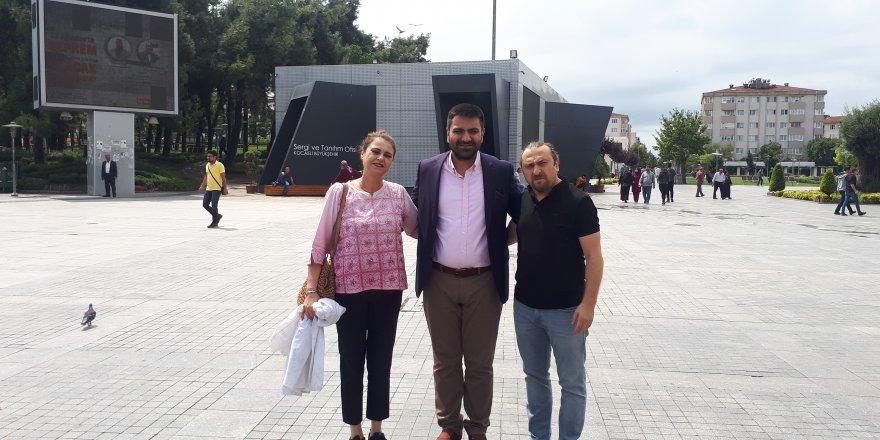 GEBZE BELEDİYESİ-TMMOB-GTO ETKİNLİĞİ: Gebze'den deprem eğitimi ve yürüyüşü