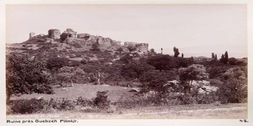 1910 yılında Eskihisar Kalesi..