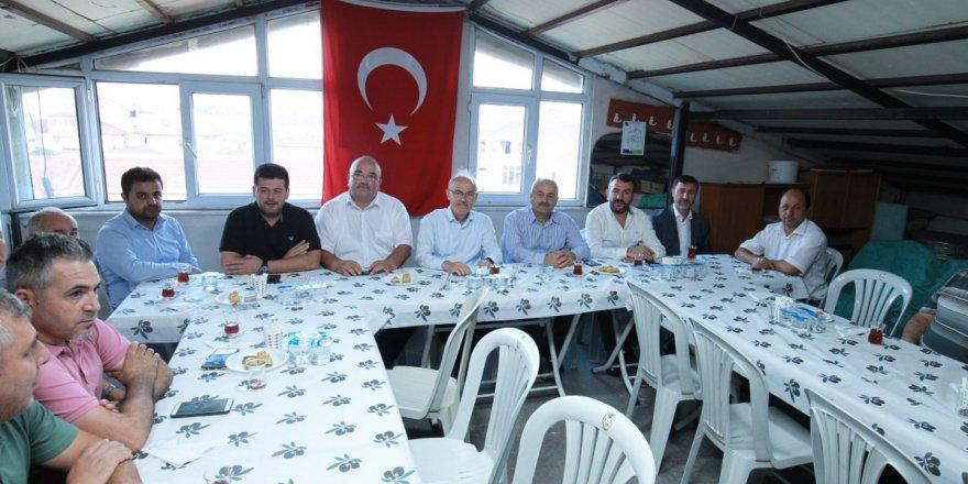 Büyükgöz'den  teşkilat ziyaretleri