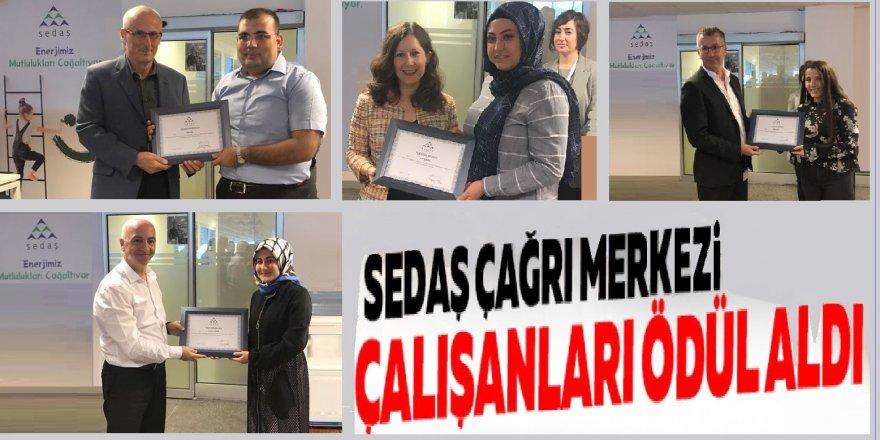 SEDAŞ çağrı merkezi çalışanları ödüllendirdi