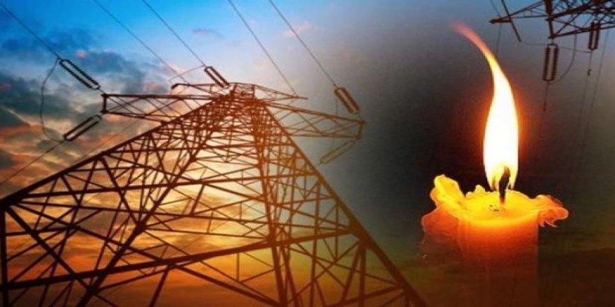 Dört mahallede elektrik kesintisi