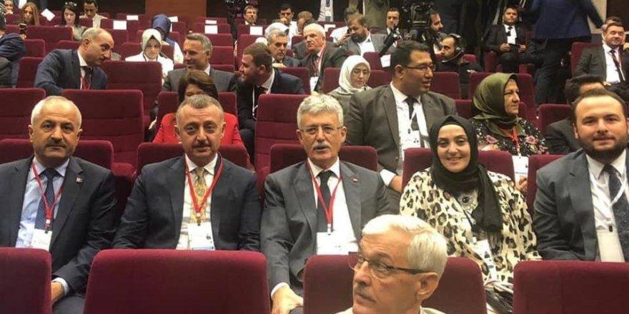 Büyükgöz Ankara'da grup toplantısına katıldı