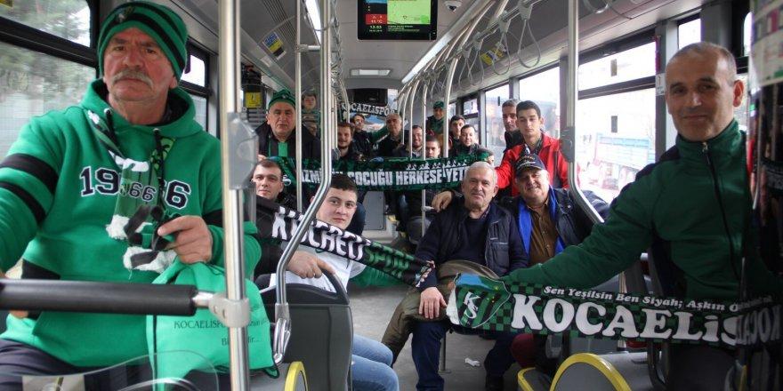 Kocaelispor maçlarına UlaşımPark ayrıcalığı
