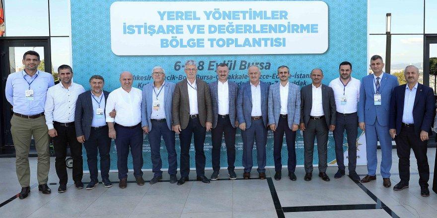 Ankara'da toplantıya katıldılar