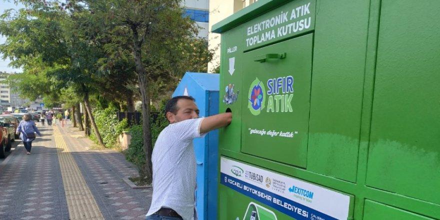 GEBZE'DE: 50 ton atık geri dönüşüme kazandırıldı