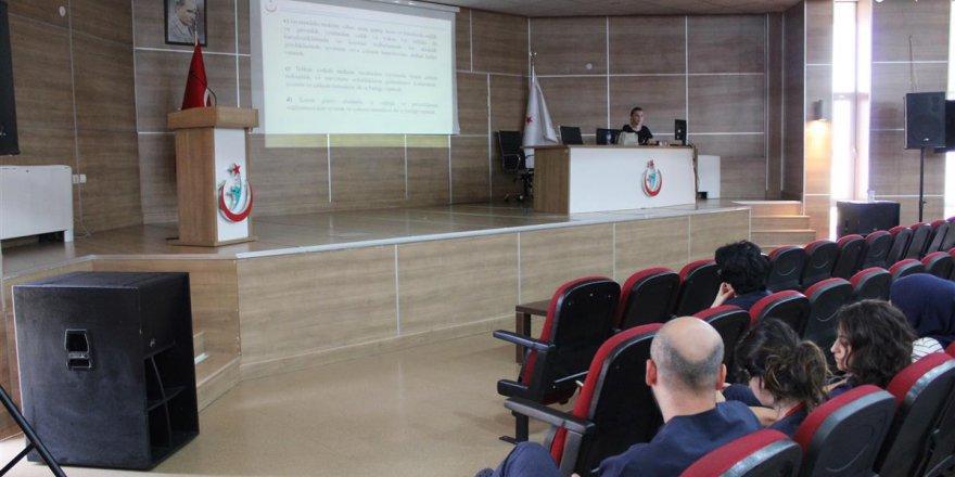 DARICA FARABİ: Hastane çalışanları bilinçlendiriliyor