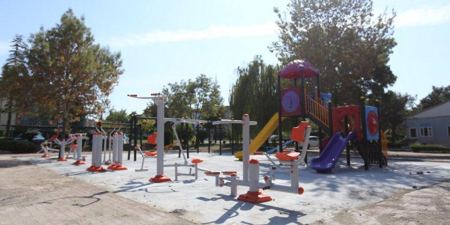 Gebze'ye 7 yeni park