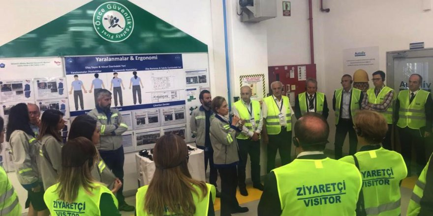Sanayiciler Autoliv Cankor'da toplandı