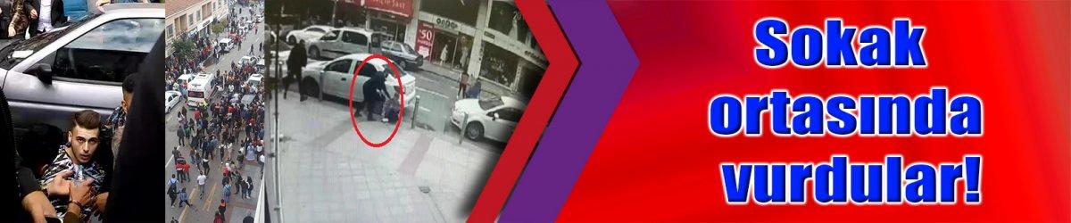 Sokak ortasında vurdular!