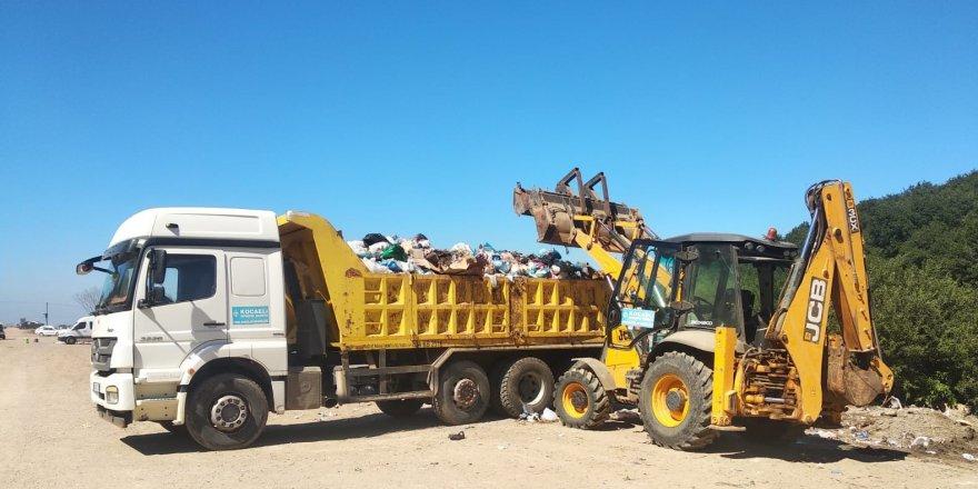 5 sahilden 835 ton çöp toplandı