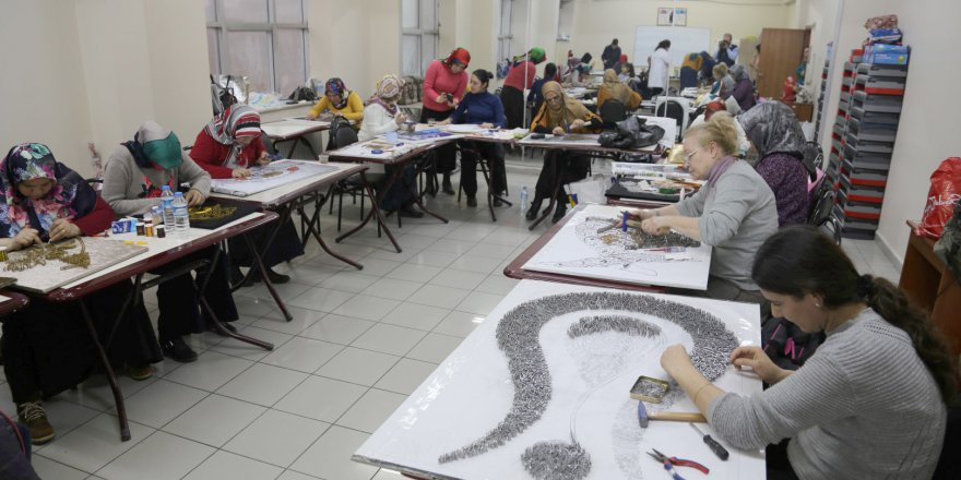 KO-MEK'te 19 bin kişi eğitim görüyor