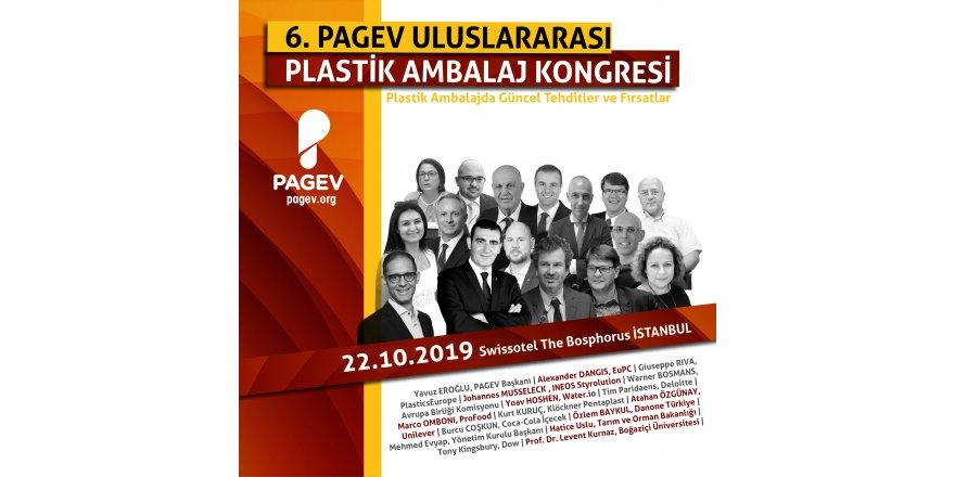 """PAGEV KONGRESİ'NDE: """"Plastik ambalajda güncel tehditler ve fırsatlar"""" masaya yatırılacak"""