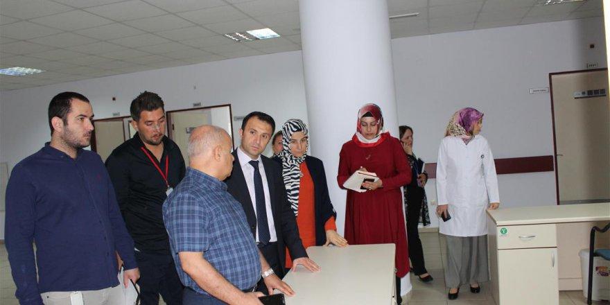 Darıca Farabi'de hastane turu