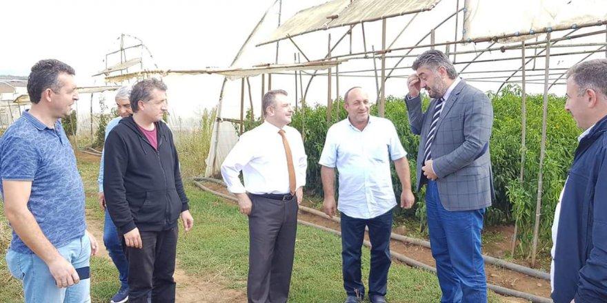 Gebzeli 200 çiftçiye 800 bin TL destek