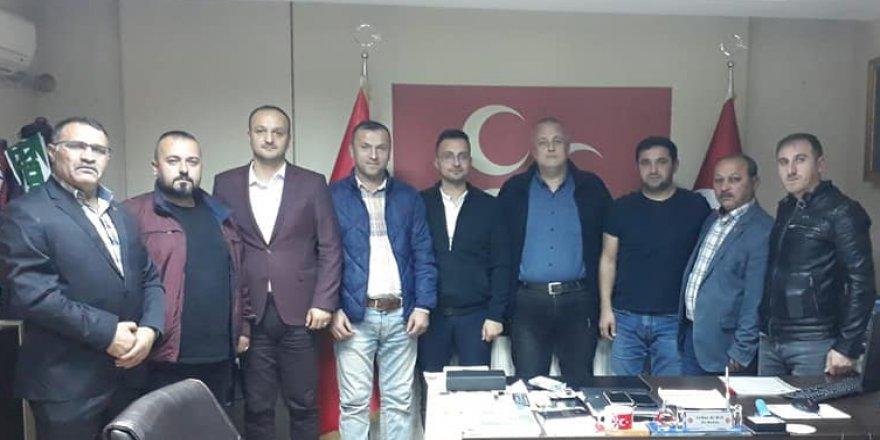 MHP Gebze'de bölge başkanları toplantısı
