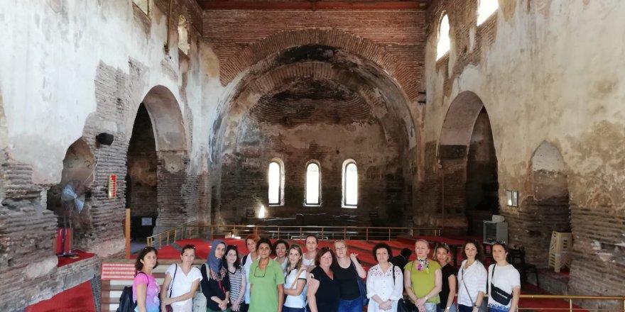 Konservatuvar öğrencileri geziye katıldı