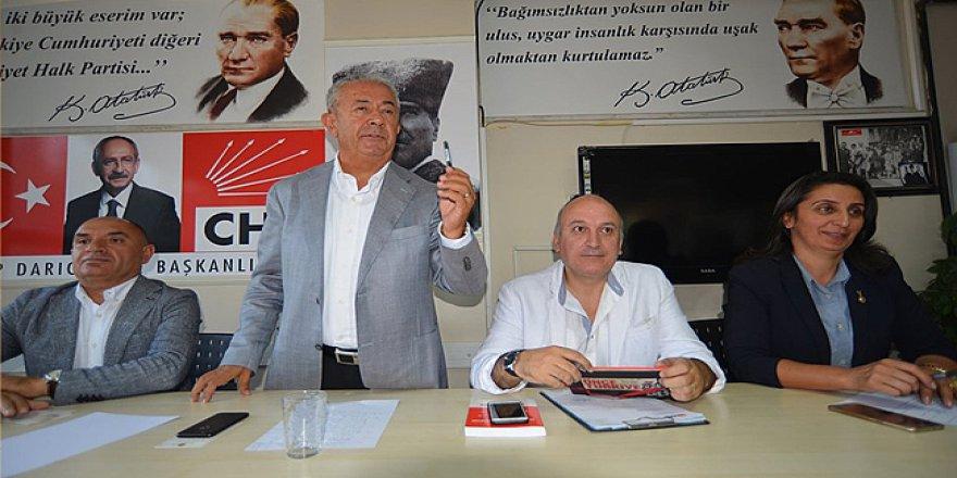 CHP Darıca'da  toplantı