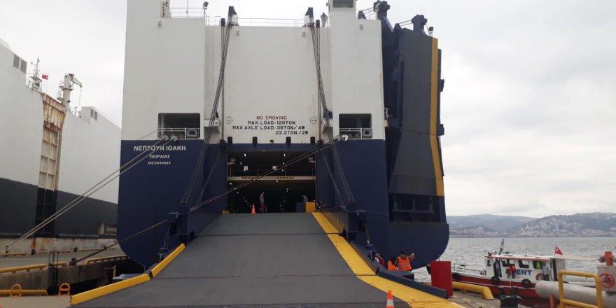 Denizi kirleten gemiye 2,5 milyon lira ceza