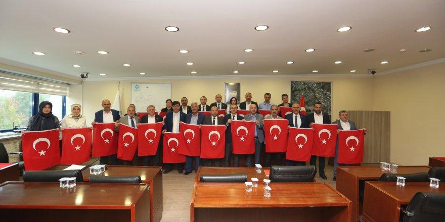 Çayırova'dan Barış Pınarı Harekâtı'na destek