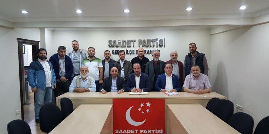 """SAADET PARTİSİ GEBZE:  """"Türkiye kendine kurulan tüm oyunları bozacaktır"""""""