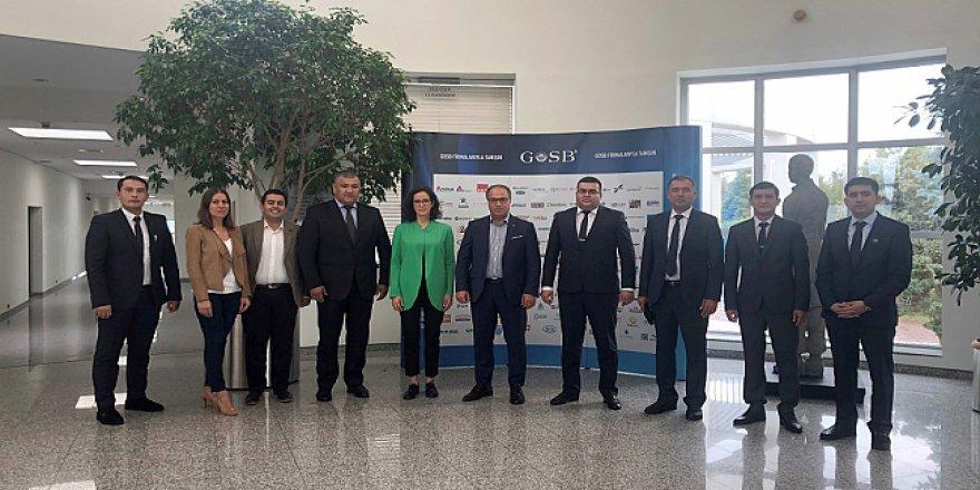 Özbekistan heyetinden GOSB ziyareti