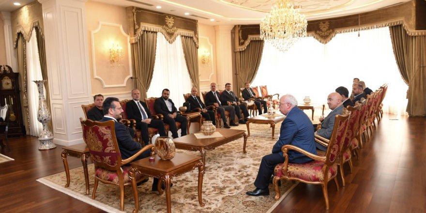 Kömürcüler OSB'den Vali Aksoy'a ziyaret