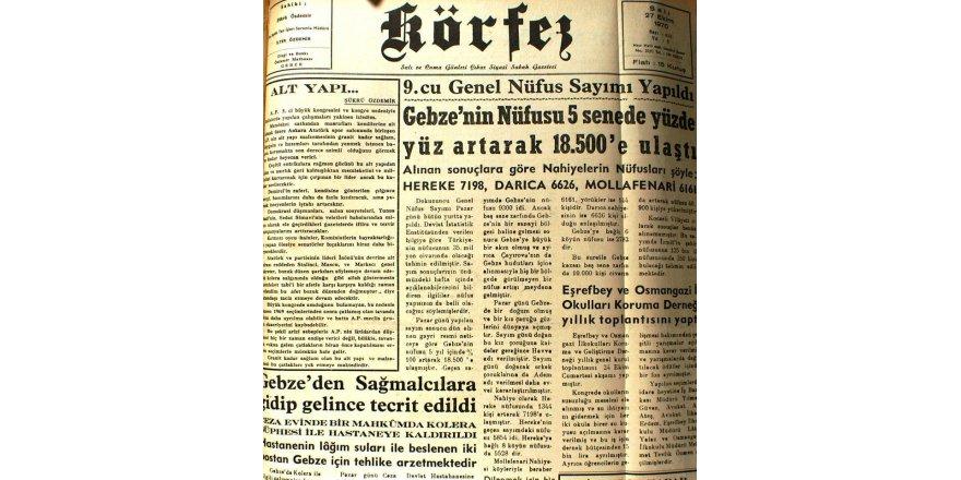 47 Yıl Önce Nüfusumuz 18.500