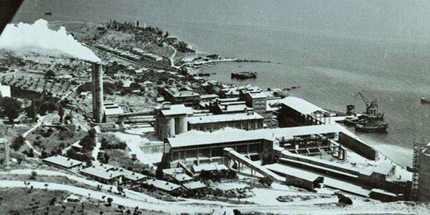 Bir Zamanlar Darıca Aslan Çimento Fabrikası