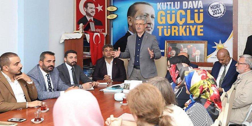 AK Parti'den mahalle toplantıları