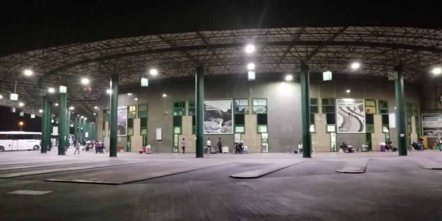 Otobüs Terminali'ne tasarruflu aydınlatma