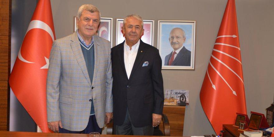CHP Karaosmanoğlu'nu ağırladı