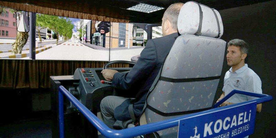 Sürücülere simülasyon eğitimi