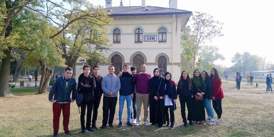 Özel Gebze Hisar Anadolu Lisesi'nden Edirne gezisi