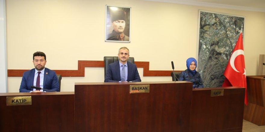 ÇAYIROVA: Kasım ayı meclis toplantısı yapıldı