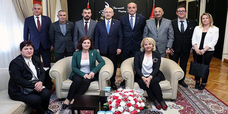 CHP'den Kılıçdaroğlu'na ziyaret