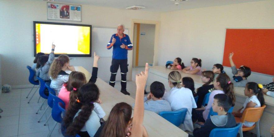 Özel Yeni Atlas'ta Deprem Ve AFAD Eğitimi