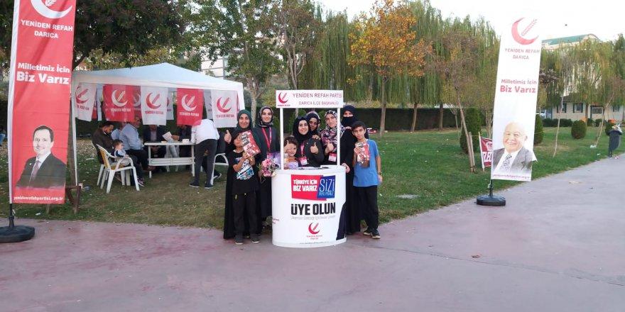 YRP Darıca'da stant açtı