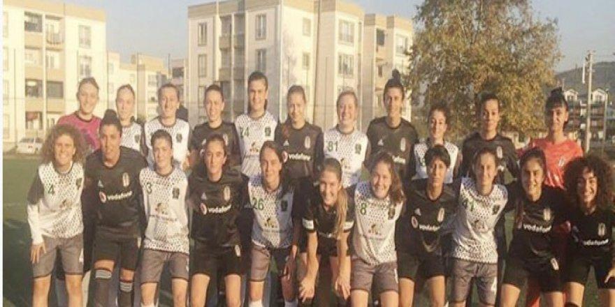 Kızlar Beşiktaş'a diş geçiremedi