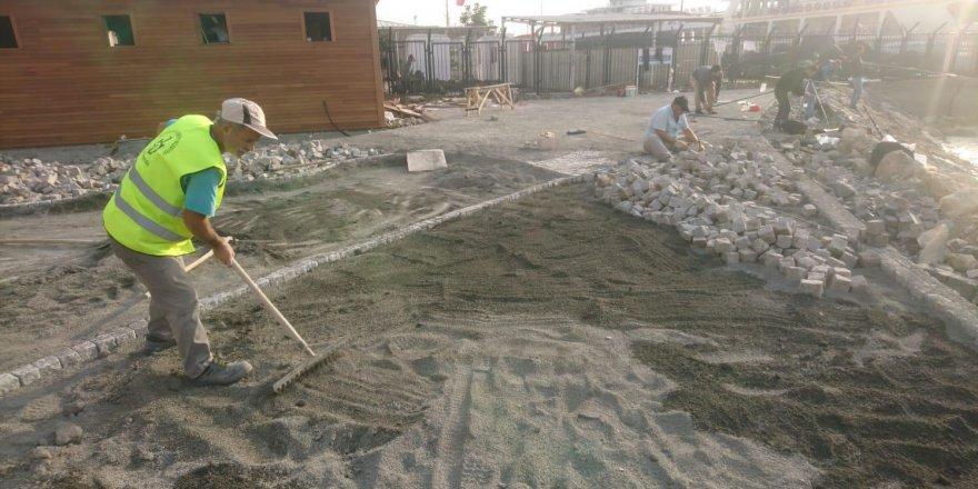 Darıca Sahili'nde hummalı çalışma