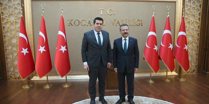 Makedon Bakan Hasan'dan Kocaeli Valiliğine ziyaret